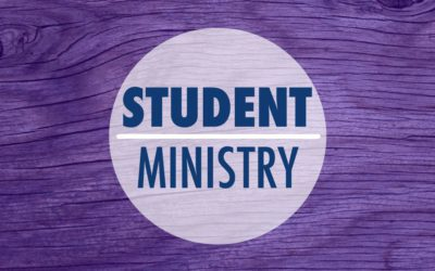 Student Ministry Position Opening